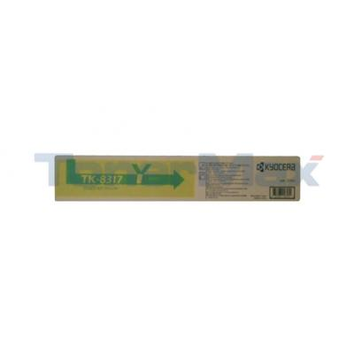 KYOCERA MITA TASKALFA 2550CI TONER KIT YELLOW